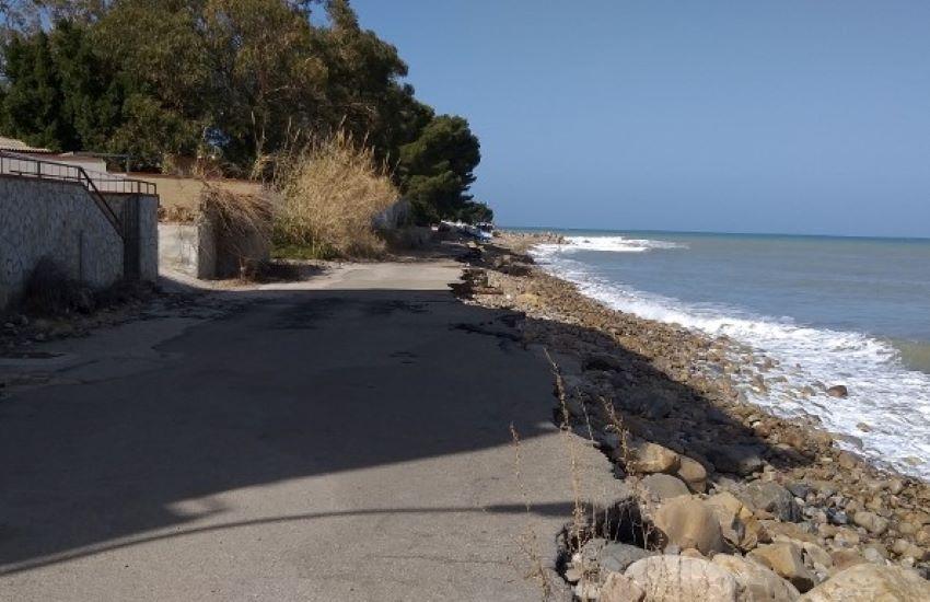 Erosione costiera a Caronia, in corso la gara per l'affidamento dei lavori