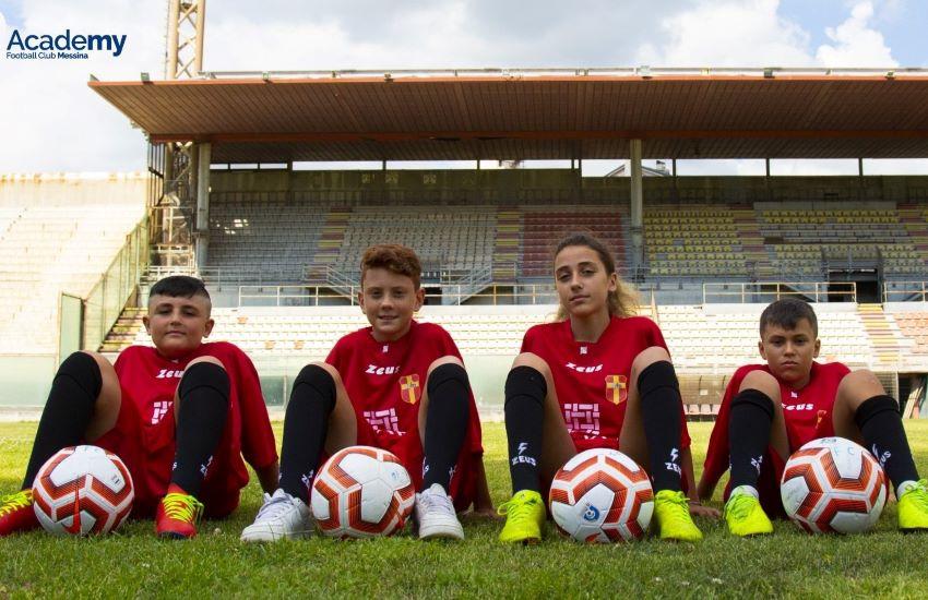 FC Messina AcadeMY, al via  domani la prima scuola calcio giallorossa
