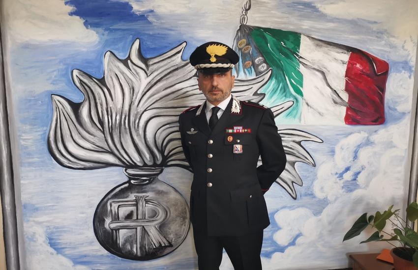 Un nuovo maggiore nella squadra del comando provinciale dei carabinieri di Prato
