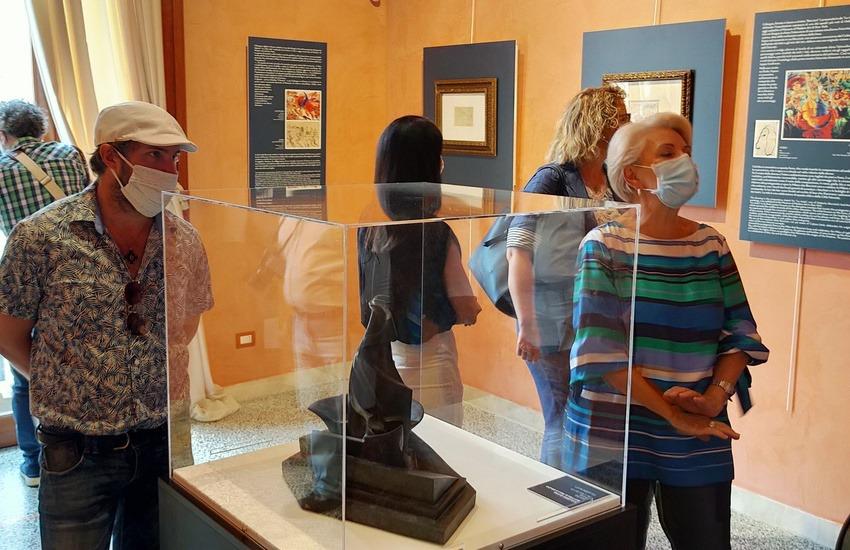 Inaugurata la mostra dedicata al reggino Umberto Boccioni