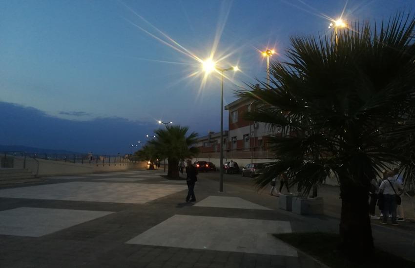 Parco Lineare Sud, si accendono le luci sull'opera