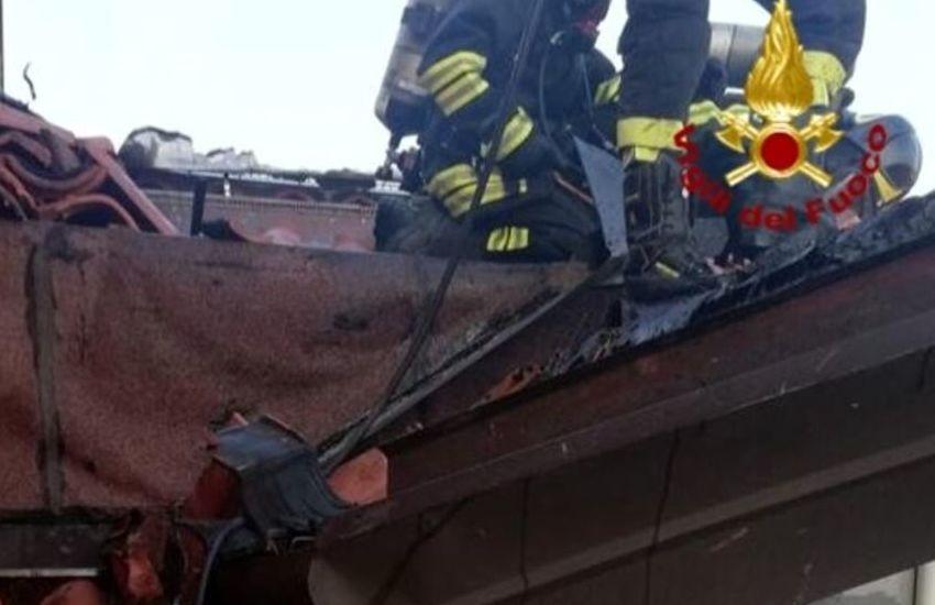 Padova, incendio in una palazzina del'Arcella: nessun ferito