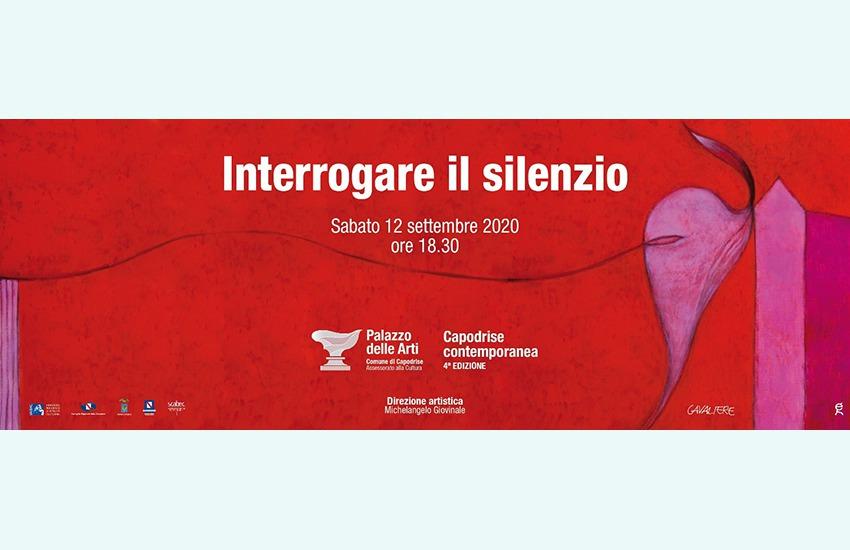 """""""Interrogare il silenzio"""" si può, sabato 12 al Palazzo delle Arti di Capodrise"""