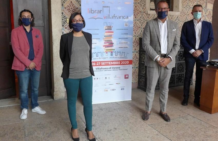 LibrarVillafranca, il festival dedicato ai libri dal 25 al 27 settembre
