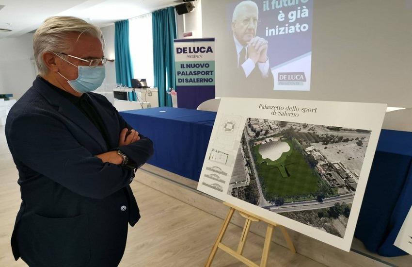 Palazzetto dello Sport a Salerno, 8 milioni dalla Regione