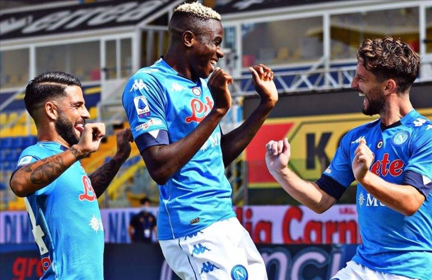 Parma-Napoli 0-2, buona la prima per Gattuso. Osimhen, che esordio