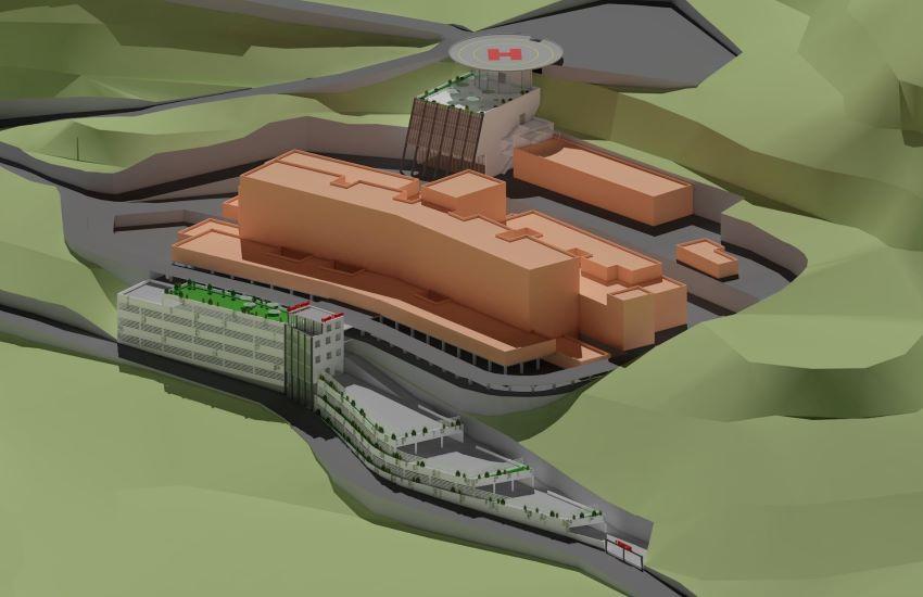 Taormina, parcheggi, elipista e nuovi servizi per l'Ospedale San Vincenzo