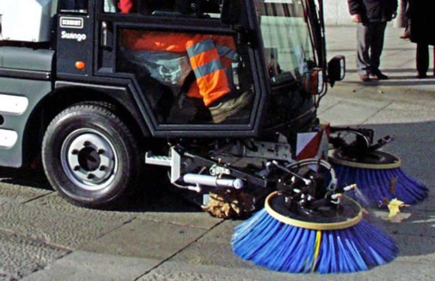 Al via la nuova pulizia delle strade