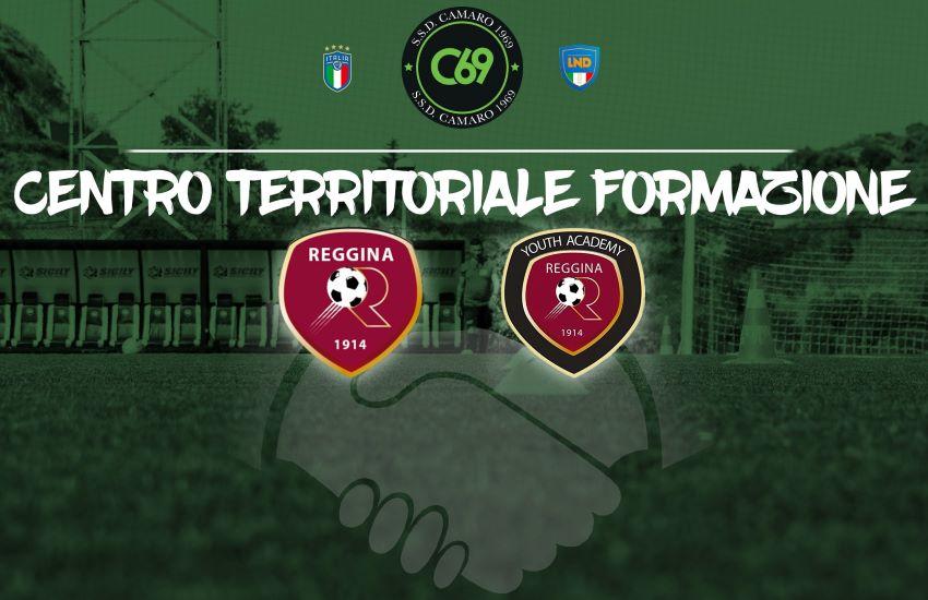Calcio, accordo SSD Camaro 1969 e Reggina 1914