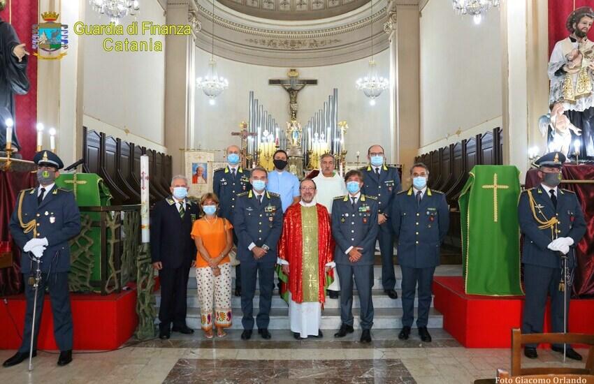 La Guardia Di Finanza di Catania celebra il Santo Patrono, l'Apostolo Matteo