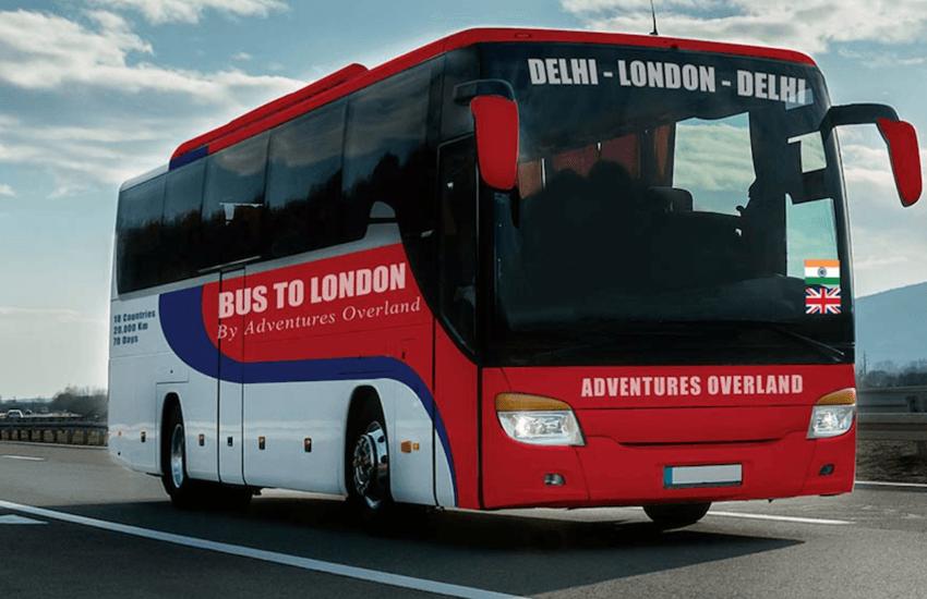 Da Delhi a Londra in bus in 70 giorni