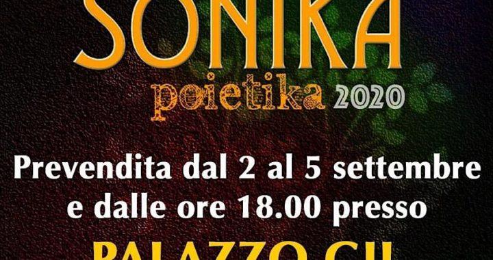 Sonika Poietika 2020, edizione dedicata al sud e alla musica d'autore