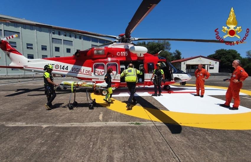 Maltempo e incidenti, a Trecastagni 5 feriti, uno è grave