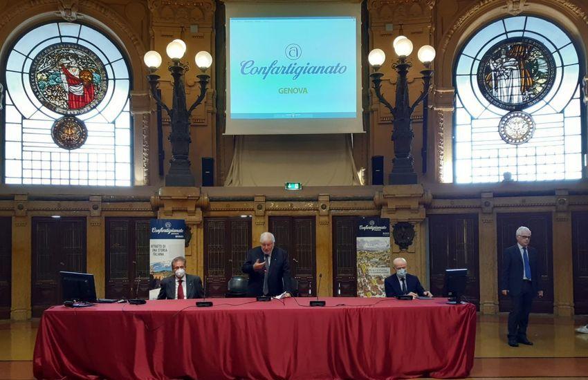 Genova, i 75 anni di attività per Confartigianato
