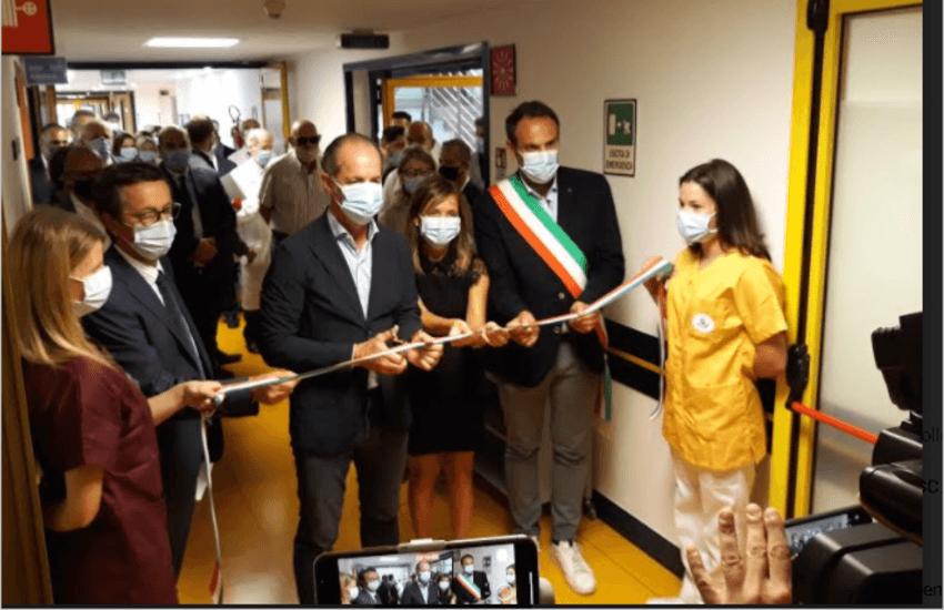 INAUGURATO OSPEDALE DI COMUNITA' DI TREVISO