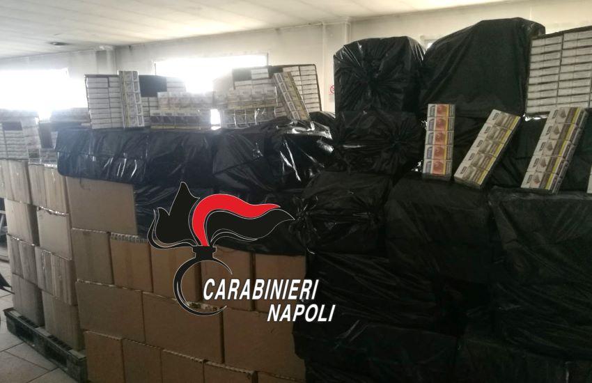 """Maxi sequestro di """"bionde"""". Carabinieri sottraggono al mercato nero oltre 600 chili di sigarette"""