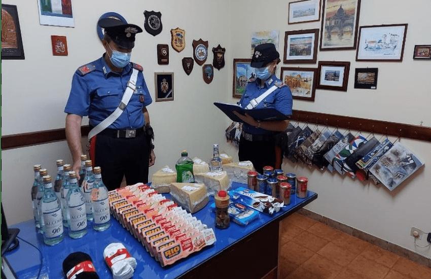 Ladre in due supermercati intercettate dai carabinieri di San Giorgio a Liri