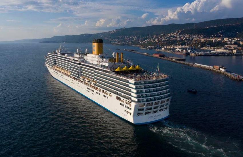 costa deliziosa nave crociera Bari