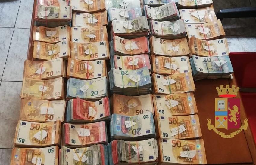 Roma, arresti da Ponte di Nona a Capannelle e maxi sequestri, rinvenuti 52 kg. di cocaina, 50 kg. di hashish e quasi 390 mila euro in contanti