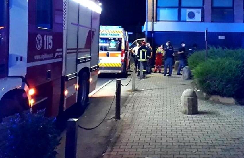 Padova, paura per una fuga di gas anomala: anziana salvata dai pompieri