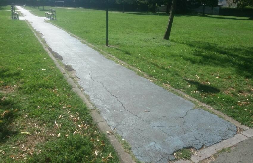 Si interviene sui giardini di  Vergaio: sistemazione di vialetti, panchine e fontanina