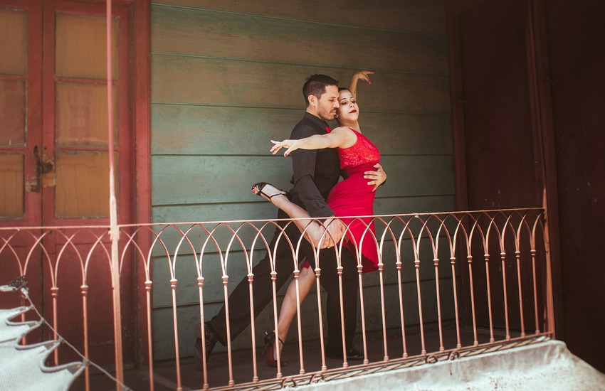 Sabato 5 settembre, tango argentino al parco San Giacomo a Verona