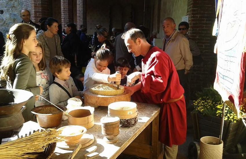 Arti e mestieri del Medioevo in Piazza dei Signori il 6 settembre