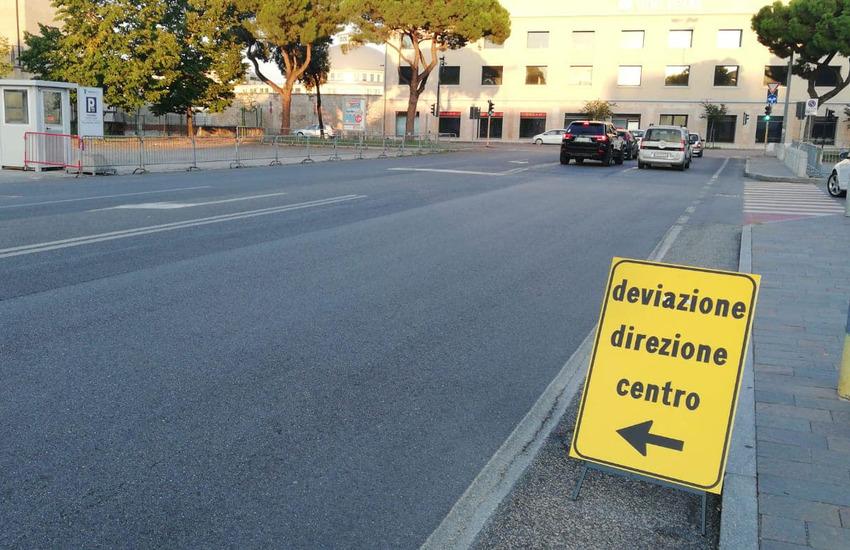Cavalcavia di Viale Piave a Verona chiuso per una settimana