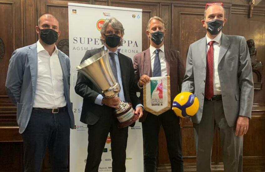 Volley Serie A, a Verona la finale della Del Monte Supercoppa 2020