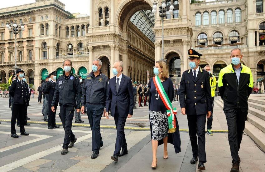 Milano, protezione civile, giornata di ringraziamento agli operatori – Foto gallery