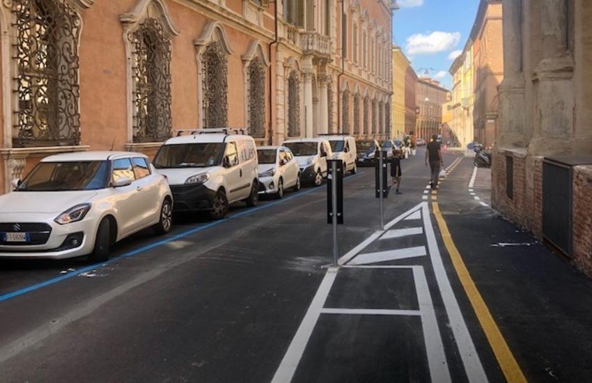 Ciclabili a Bologna: lavori in via Galliera, le novità