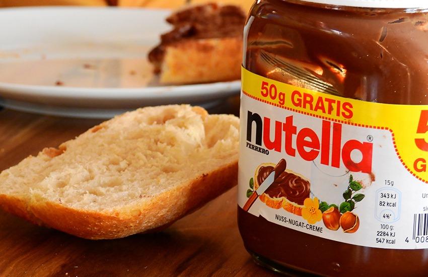 Nutella rubata in un supermercato