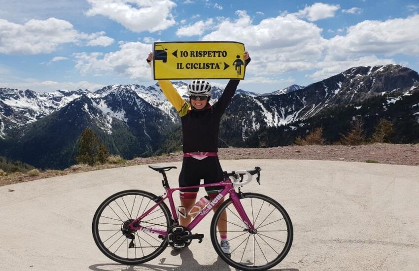 """Arriva a Montemurlo la campagna nazionale """"Salva ciclisti"""" promossa dalla donna più veloce al mondo"""