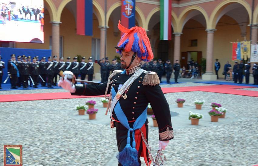 Bologna: il Tenente Colonnello Diego Polio lascia l'incarico