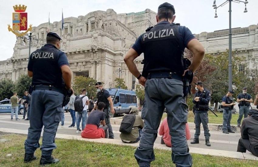 Milano, controlli in Stazione Centrale, 4 arresti