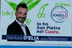 Disegni volgari sul volantino elettorale, vittima un candidato a San Pietro in Lama