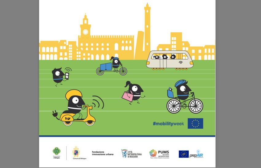Settimana Europea della Mobilità 2020 a Bologna