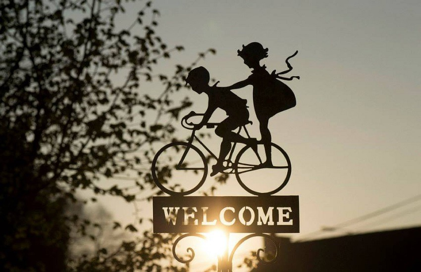 Bicicletta: un'icona della tecnica, rappresentata dagli artisti contemporanei