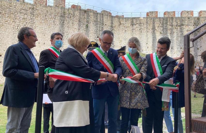Asolo, inaugurata la Rocca restaurata