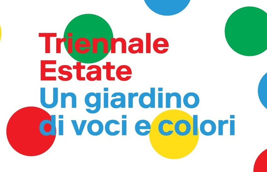 """Il programma di """"Triennale Estate"""". Tutti gli eventi dall'8 al 13 settembre"""