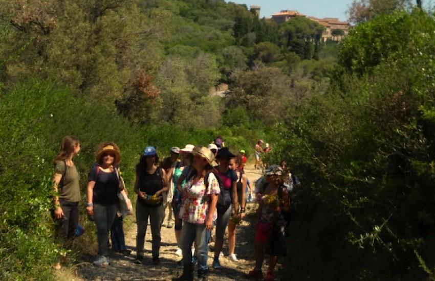 Laboratori con l'erborista al Parco archeologico di Baratti e Populonia
