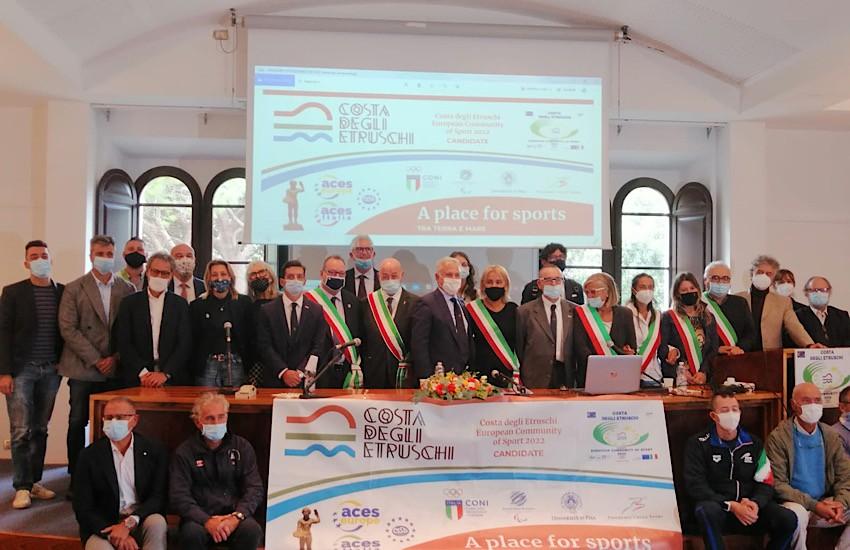 Da Bruxelles arriva la conferma: l'Ambito Turistico Costa degli Etruschi è ufficialmente Comunità Europea dello Sport 2022