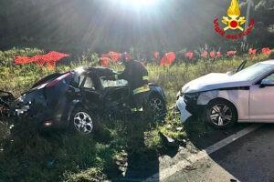Incidente stradale a Fiorentina: intervengono i Vigili del Fuoco