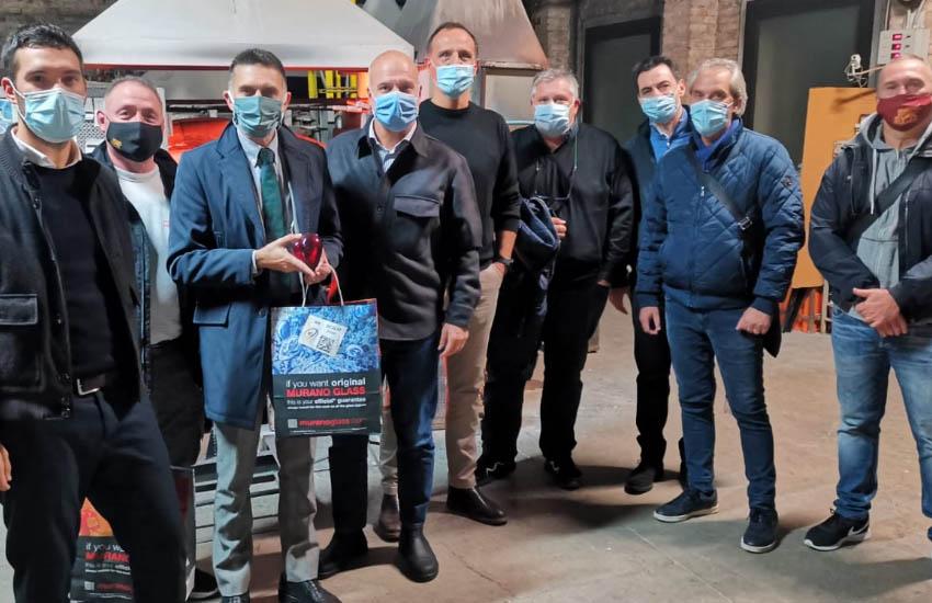 Marchio vetro artistico di Murano: il vicesindaco Tomaello e l'assessore Costalonga incontrano i rappresentanti di Promovetro