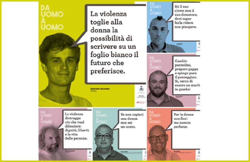 """S. BIAGIO DI CALLALTA, DEBUTTA SUI SOCIAL IL PROGETTO """"DA UOMO A UOMO"""" PER CONTRASTARE LA VIOLENZA SULLE DONNE"""