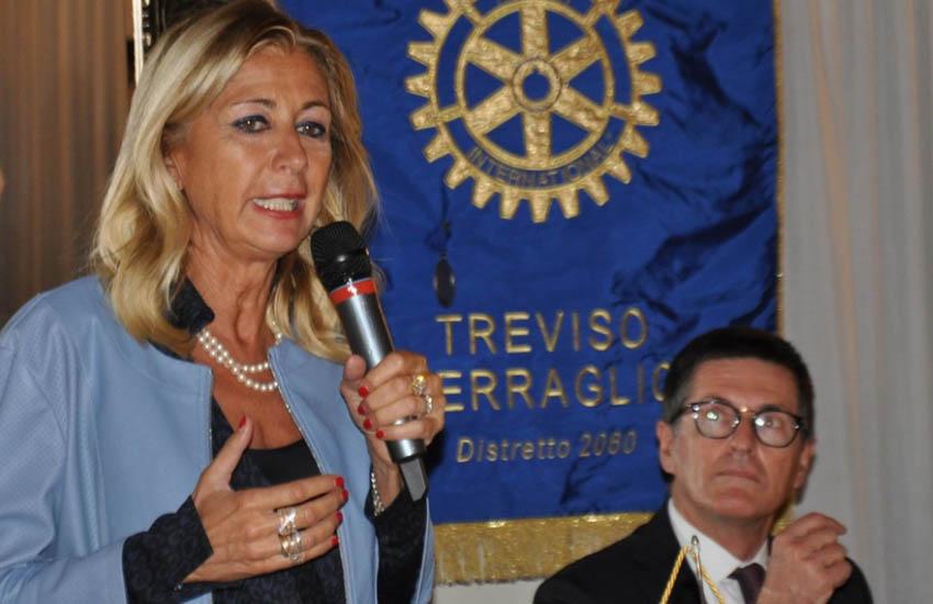 Il Rotary Club Treviso Terraglio e l'imprenditrice Maria Cristina Gribaudi insieme per una raccolta fondi in favore di Rachele