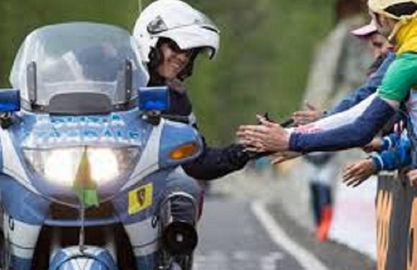 Polizia di Stato, 103° Giro d'Italia: campagna di sensibilizzazione sulla sicurezza stradale