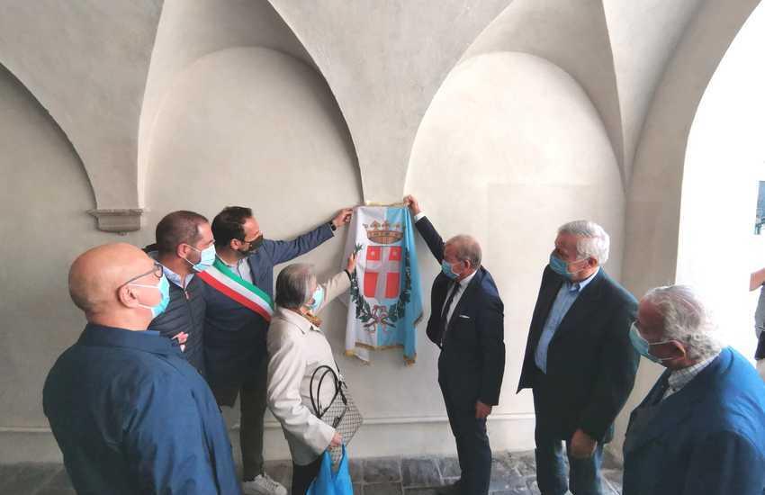 INAUGURATO IL RESTAURO DEL SOTTOPORTICO DI SAN PARISIO