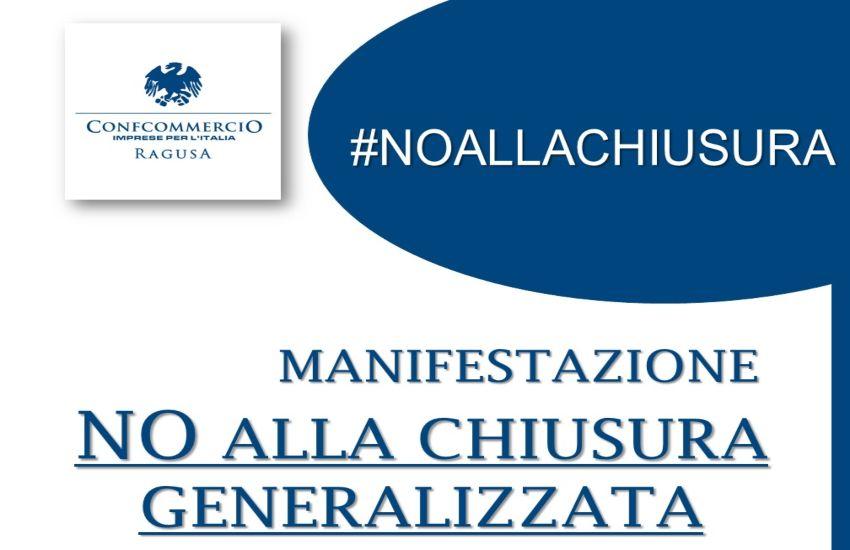 No alla chiusura generalizzata di ConfCommercio Ragusa