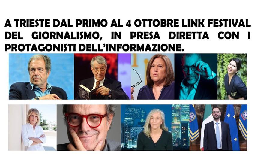 Oggi parte la 7^ edizione di Link, il Festival del Giornalismo